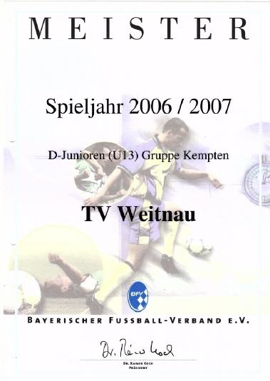 Tv Weitnau E V Sport In Weitnau
